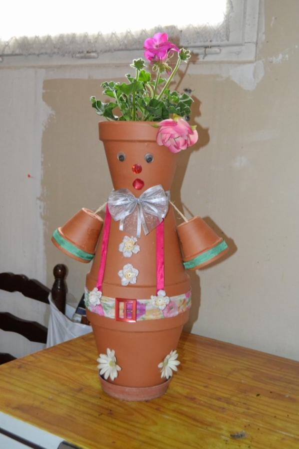 Blog de stephaperlnie blog de stephaperlnie - Bonhomme en pot de fleur ...