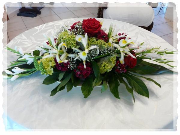 COMPOSITIONS FLORALES POUR LE MARIAGE DU 26 MAI 2012 - MES PASSIONS ...