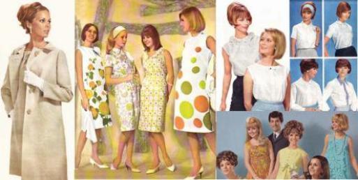 la mode des ann es 60 la mode est elle r v latrice de l. Black Bedroom Furniture Sets. Home Design Ideas