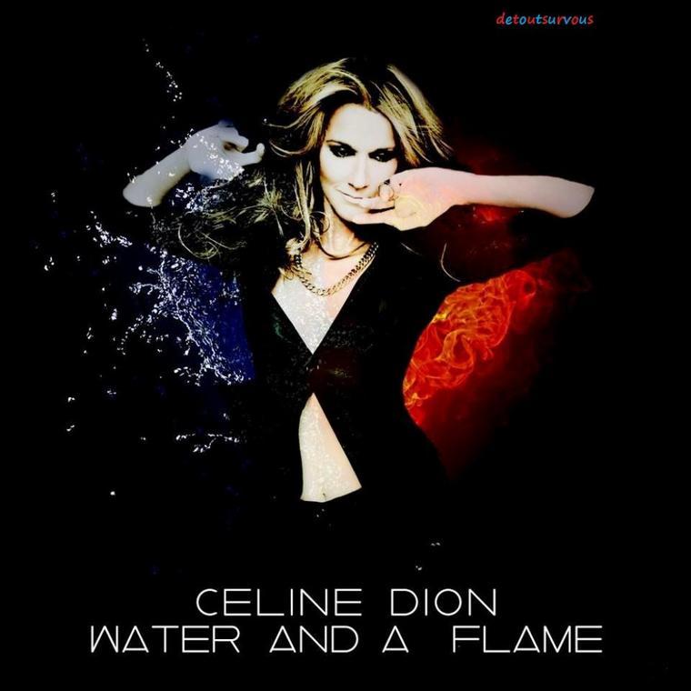 c line dion water and a flame nouvel album en anglais en octobre c line. Black Bedroom Furniture Sets. Home Design Ideas